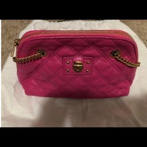 Authentic Marc Jacobs Quilted Hot Pink Madison Bag